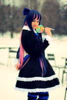 Stocking cosplay by FebruaryMinth