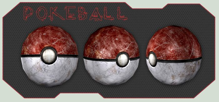 Pokemon: Poke Ball 3D by Ujimoto