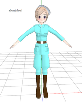 Fem!Finland mmd model by whatami94