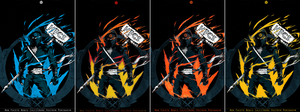 HFCS - Colourful Ninjas - iPhone Wallpapers by leaks4you