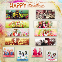 [Preview]: HPBD to me and cemxua + Happy Halloween by Jenny3110
