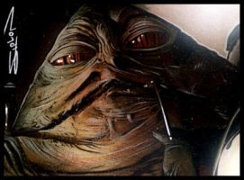 Jabba Sketch Card 2 by RandySiplon