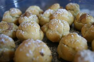 Nutella Cream Puffs by HoodieGirl84