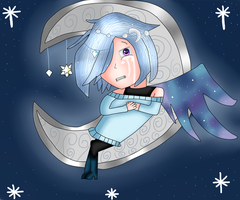 Requested- Orion In The Starry Sky by MyMelodyOfTheHeart