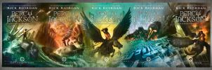 Percy Jackson New Covers by NICEjuanpaolo