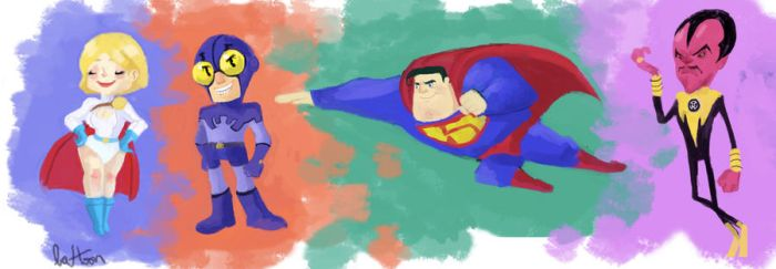 DC Style practice by Latoonist