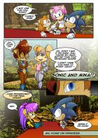 Sonic Story: Pg 2 by SalLee