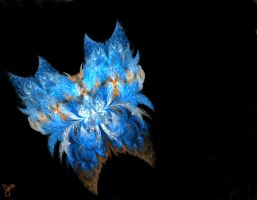Blue Butterfly by digitallusion