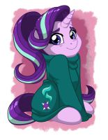 Starlight In Oversized-sweater by LateCustomer