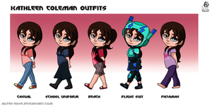 BH6: Kathleen Coleman Outfits by Aileen-Rose