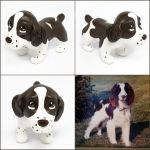 Lucy the English Springer Spaniel Pupple by LeiliaK