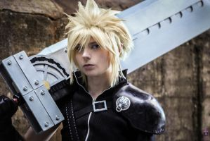 Cloud Strife AC 02 by SerinuCeli