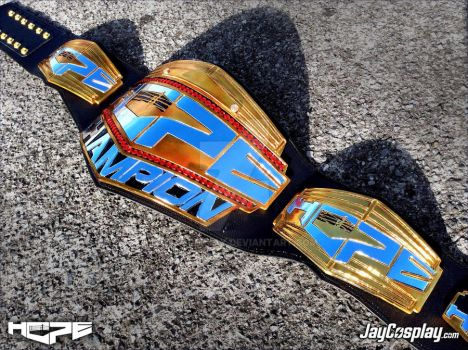 'HOPE' Championship Belt (Side) by JayCosplay