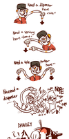 Scout And Engie doodlez by diceberg7