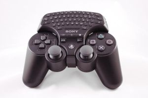 Ps3 Controller with Keyboard by Eternal-Polaroid