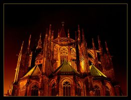 Cathedral St. Wit At Night 4 by skarzynscy