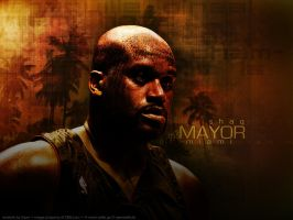 "Shaq ""Mayor of Miami"" by Viper0603"