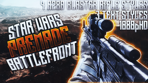 A280 Blaster Rifle Thumbnail Pack - Star Wars by AcezProduction