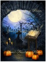 Halloween Secret 2, digital backgrounds by KlaraKay