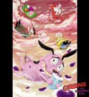 Courage the Cowardly Dog by DeeaLov3