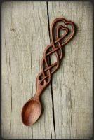 Celtic Knot Lovespoon by pagan-art