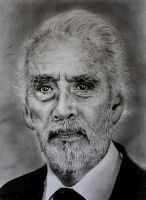 Christopher Lee by VivalaVida