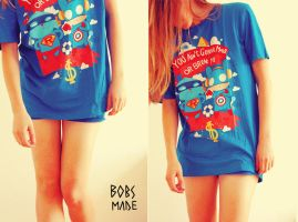 Superbunny Shirt by Bobsmade