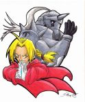 Elric brothers by Sea-Salt