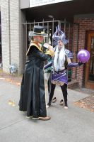 Syndra and Twisted Fate by ZandrewPhotography