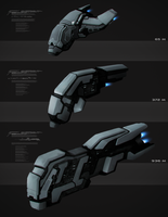 Spaceship concepts by JosiahReeves