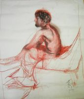 Life Drawing XII by KerrithJohnson