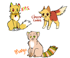 Adoptables by Hatchetfishies
