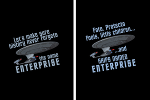 Enterprise Tees by TheHalfBloodPierrot