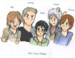 Aph: Axis Powers by SingerHeart16