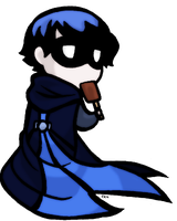 BlueJay Journal Chibi by BuddhatheBob