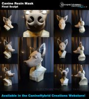 Canine Resin Mask by CanineHybrid