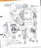 behind the stage by macangadungan