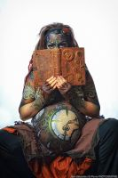 Steampunk Bodypainting 2 by MilleCuirs