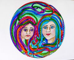 Entwined 2 by Foxycrafts-and-Arts