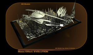 MASS EFFECT 3D ART for COMICS by OMARFRANCIA