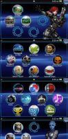 Mass Effect PS Vita Wallpaper Pack by JamesBryce
