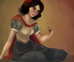 WIP: Snow White by oceanstarlet