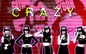 Wall 4Minute CRAZY by RainboWxMikA