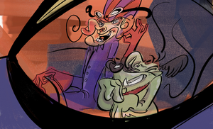 00 Dick Dastardly and Mutley by luckyde