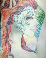 Colorful Woman by ArielNicole95