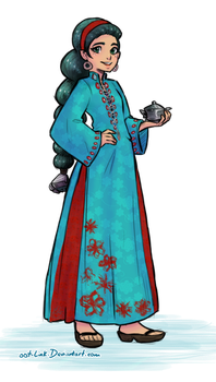 Djinn extra outfit by OOT-Link