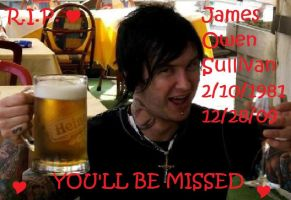 James Owen Sullivan: R.I.P. by psychopath94