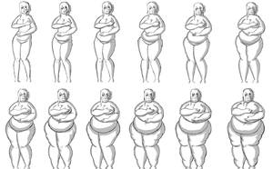 Female Weight Gain Sequence