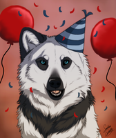 Happy Birthday by TheMysticWolf