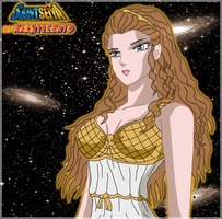 coloring buste athena mythologique by Naruttebayo67